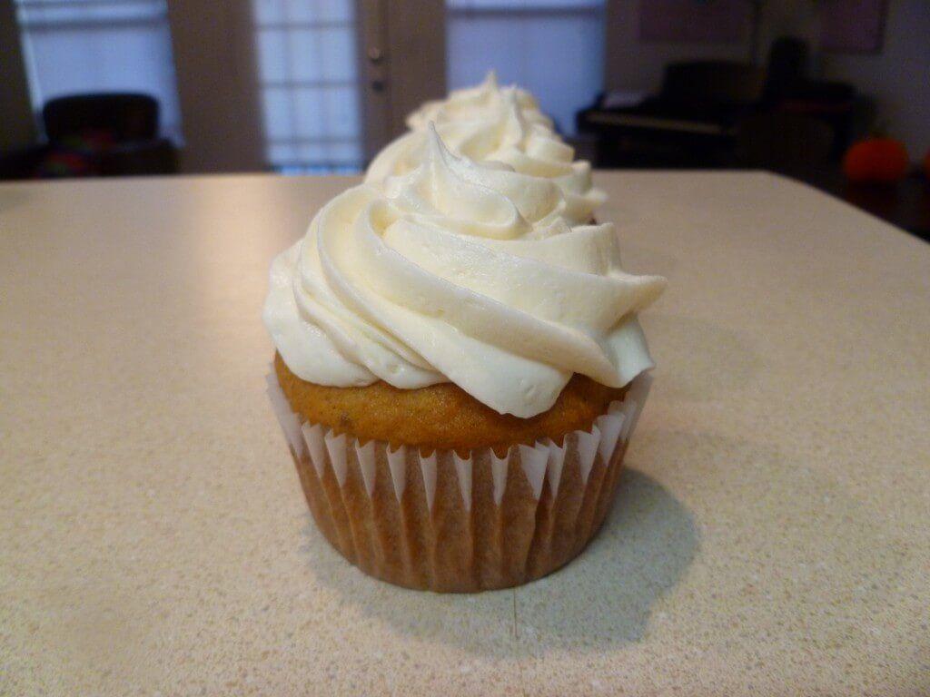 Sweet Potato Cupcakes Recipe — Dishmaps