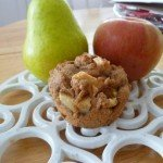 Apple Pear Muffins