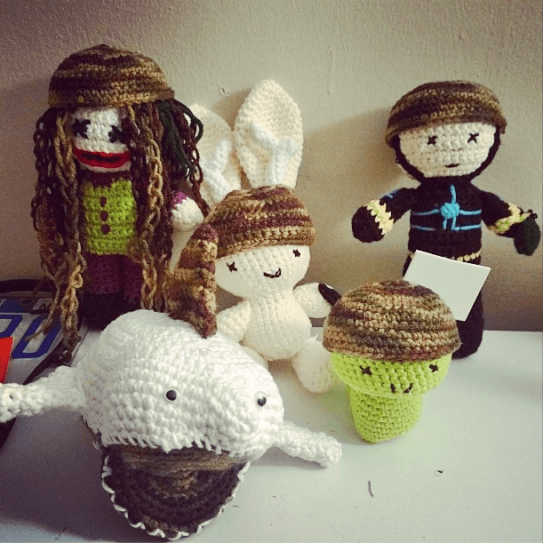 crocheted things