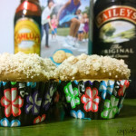 Buttered Toffee-tastic Cocktail Cupcakes with Toffee Frosting
