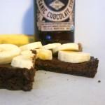 Chocolate Banana Tarts with Chocolate Stout